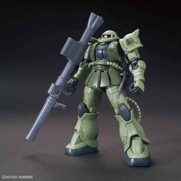 Bandai 1/144 HG MS-06C Zaku II Type C/Type C-5 front on