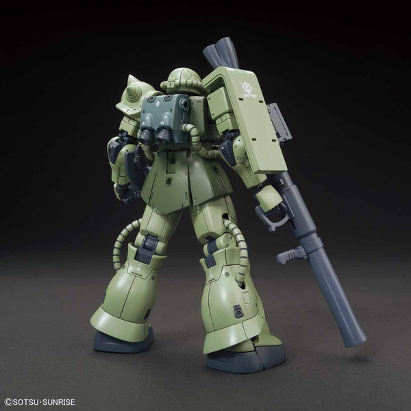 Bandai 1/144 HG MS-06C Zaku II Type C/Type C-5 rear view