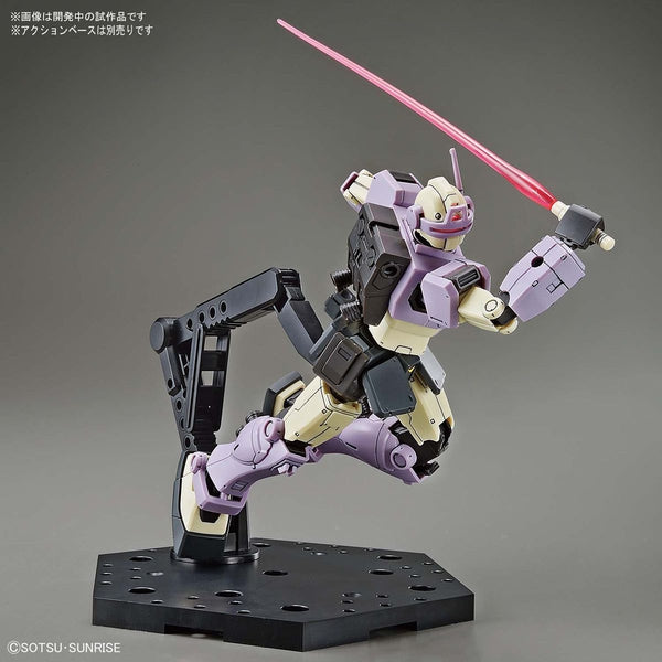 Bandai 1/144 HG RGM-79KC GM Intercept Gundam action pose with sabre