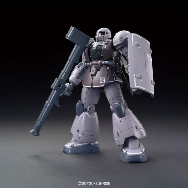 Bandai 1/144 HG YMS-03 Waff front on view with bazooka
