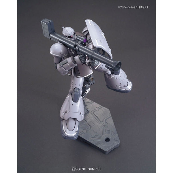 Bandai 1/144 HG YMS-03 Waff action pose with weapon.