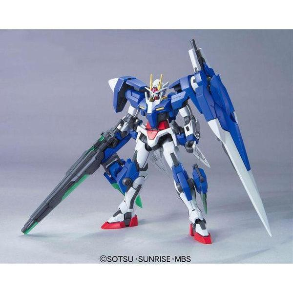 Bandai 1/144 HG 00 Gundam Seven Sword/G front on pose