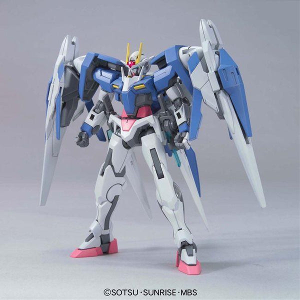 Bandai 1/144 HG 00 Raiser (Designer's Colour) front on pose