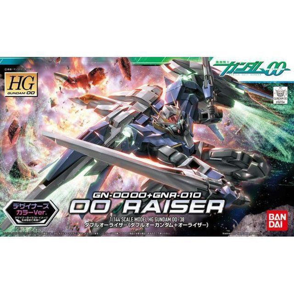 Bandai 1/144 HG 00 Raiser (Designer's Colour) package art