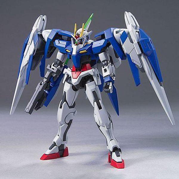 Bandai 1/144 HG 00 Raiser + GN Sword III front on pose