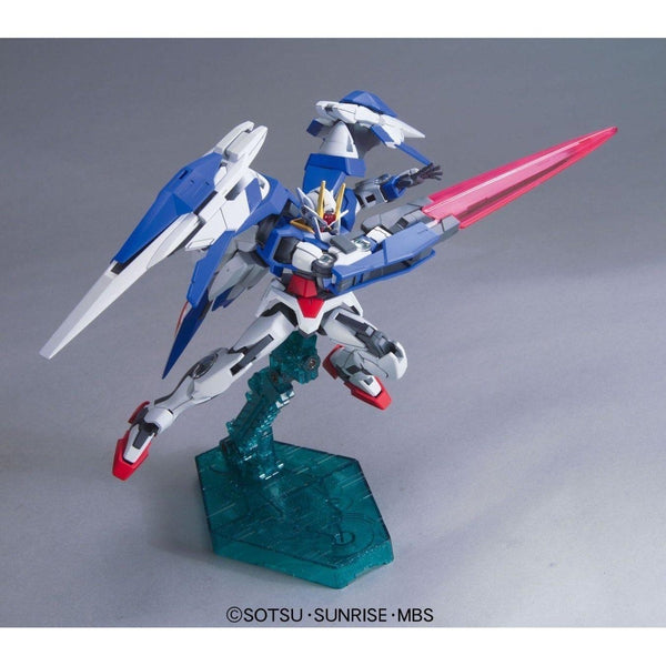Bandai 1/144 HG 00 Raiser + GN Sword III fight pose 2