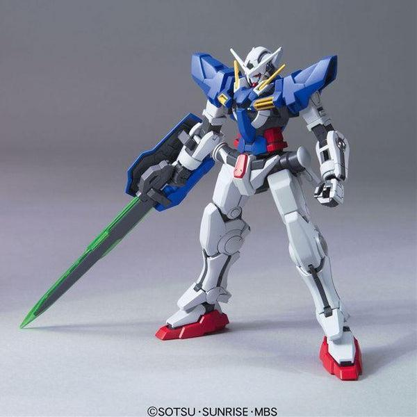 Bandai 1/144 HG00 Gundam Exia Repair II front on pose