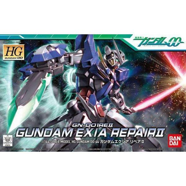 Bandai 1/144 HG00 Gundam Exia Repair II package art