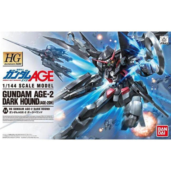 Bandai 1/144 HG Age-2 Dark Hound package art