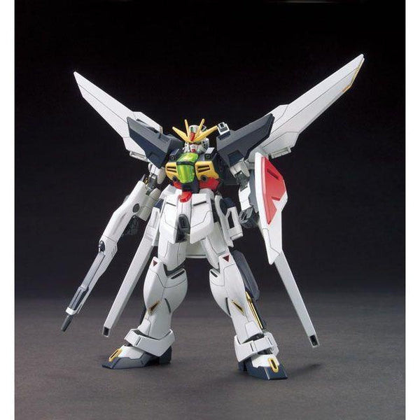 Bandai 1/144 HGAW GX-9901-DX Gundam Double X front on pose