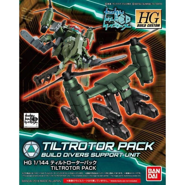 Bandai 1/144 HGBD Tiltrotor Pack package art