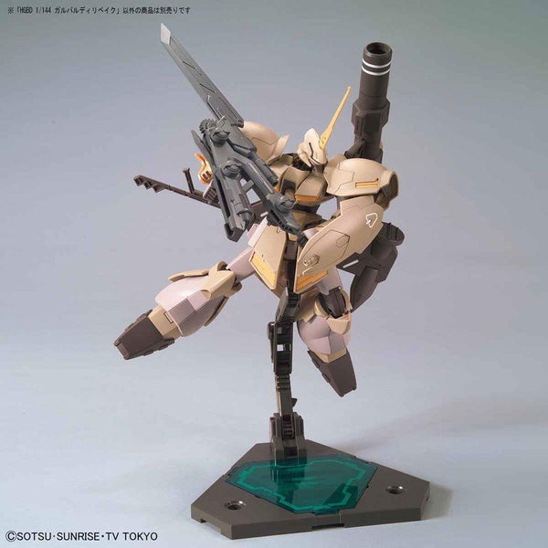 Bandai 1/144 HGBD Galbaldy Rebake fight pose