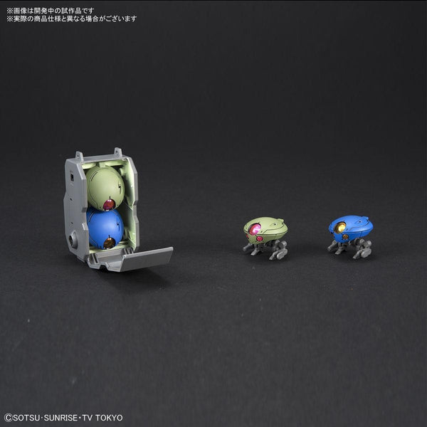 Bandai 1/144 HGBD Grimoire Red Beret backpack and minimoa