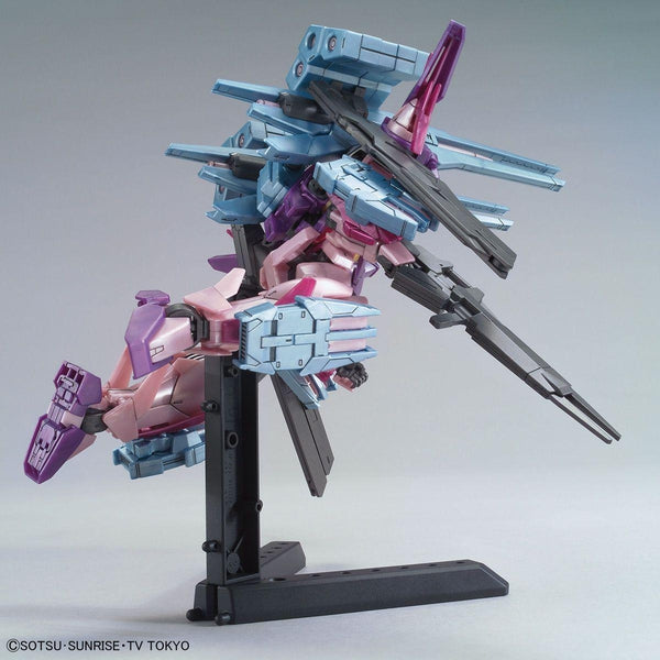 Bandai 1/144 HG Gundam 00 Sky HWS Trans-Am fight pose 2