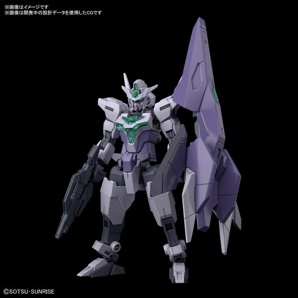 Bandai 1/144 HGBD:R Core Gundam II (G-3 Colour) front on view.