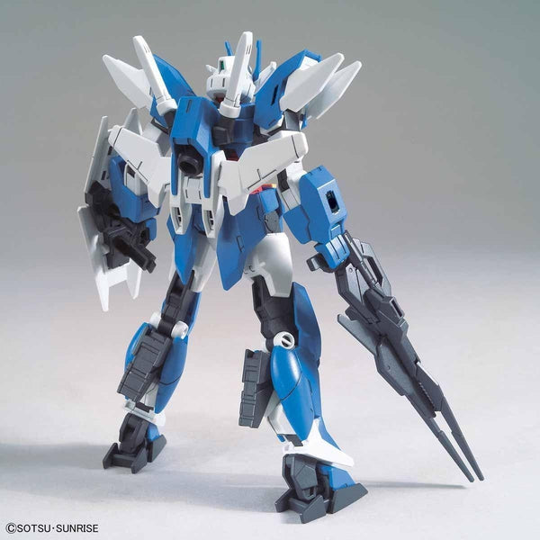 Bandai 1/144 HGBD:R Earthree Gundam rear view