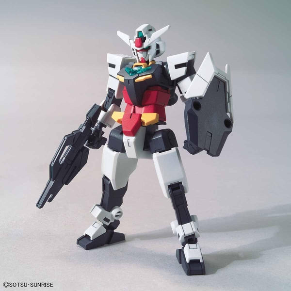Bandai 1/144 HGBD:R Earthree Gundam core front on