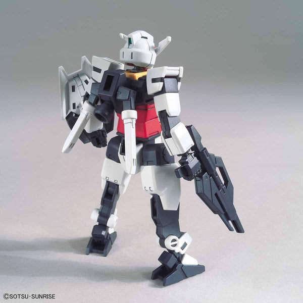 Bandai 1/144 HGBD:R Earthree Gundam core rear view