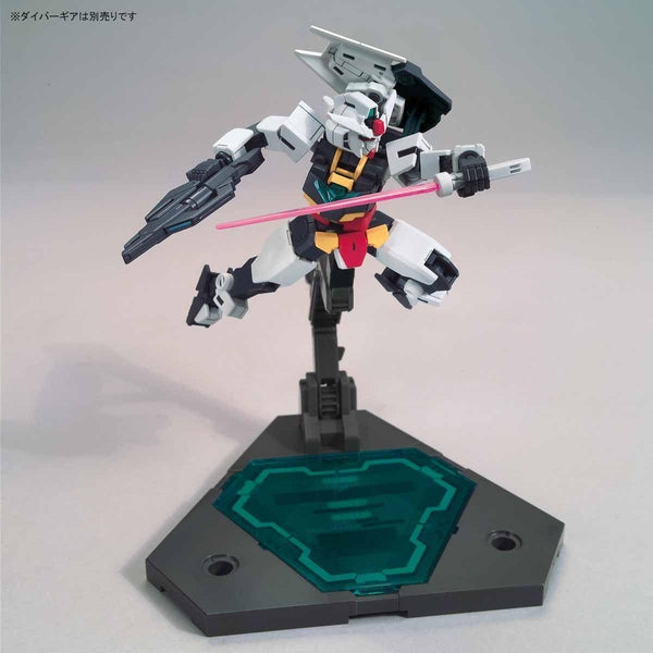 Bandai 1/144 HGBD:R Earthree Gundam core action pose