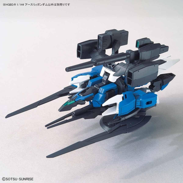 Bandai 1/144 HGBD:R Earthree Gundam weaponized flight unit