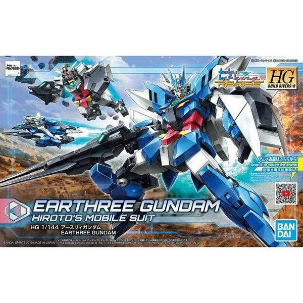 Bandai 1/144 HGBD:R Earthree Gundam package art