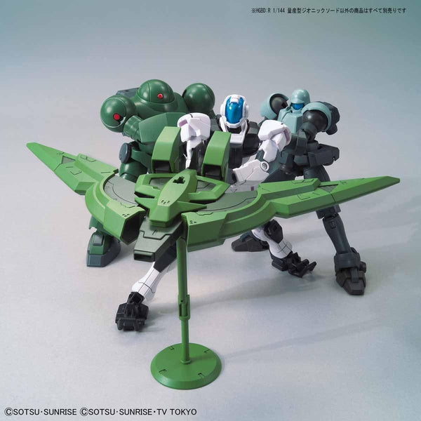 Bandai 1/144 HGBD:R Mass Production Type Zeonic Sword action pose 2