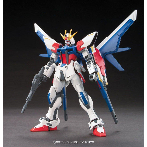 Bandai 1/144 HGBF Build Strike Gundam Full Package Build Fighter Sei Iori Custom Made Mobile Suit front view