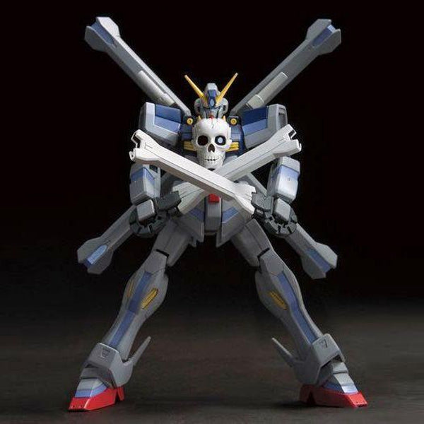 Bandai 1/144 HGBF Gundam Cross Bone Maoh wide stance front on