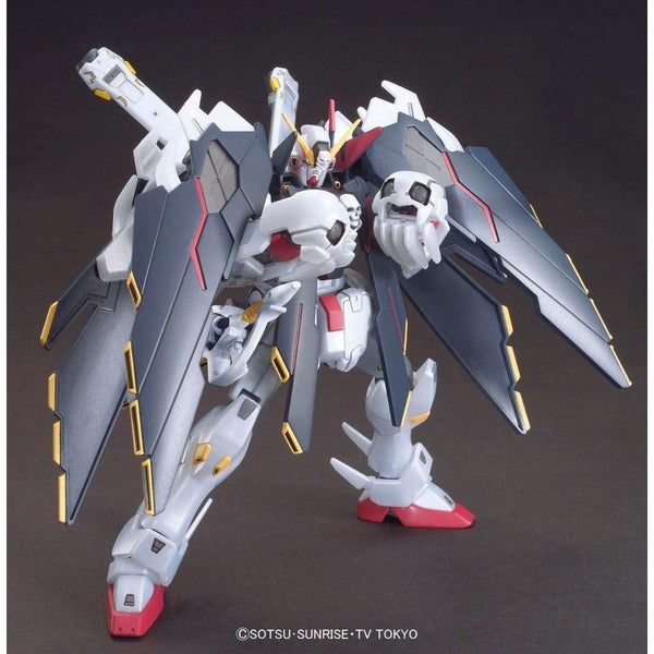 Bandai 1/144 HGBF Crossbone Gundam X1 Full Cloth Type GBFT action pose