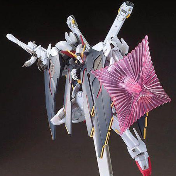 Bandai 1/144 HGBF Crossbone Gundam X1 Full Cloth Type GBFT with energy shield