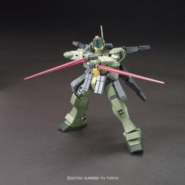 Bandai 1/144 HGBF RGM-79SP GM Sniper K9 action pose