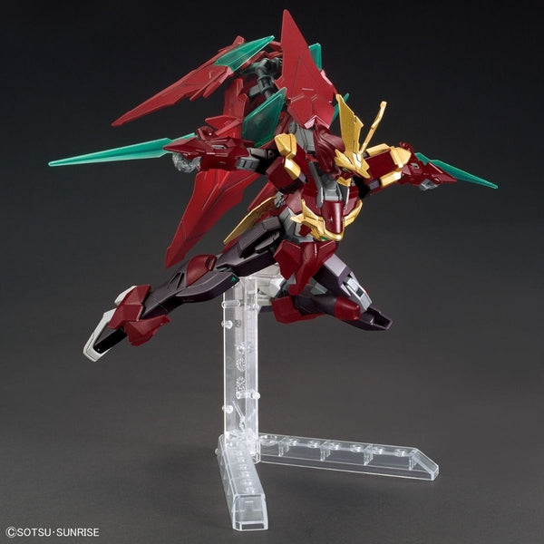 Bandai 1/144 HGBF Ninpulse Gundam action pose 1