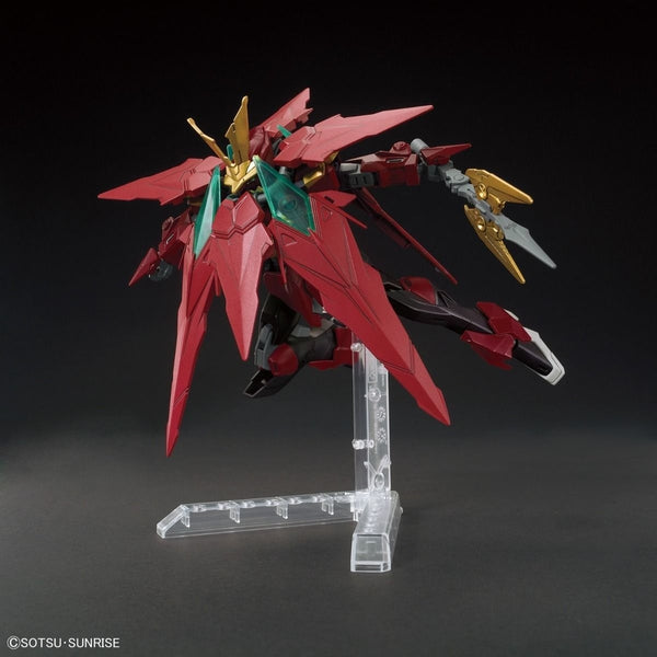 Bandai 1/144 HGBF Ninpulse Gundam action pose 2