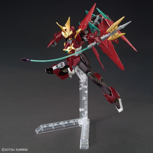 Bandai 1/144 HGBF Ninpulse Gundam action pose 3