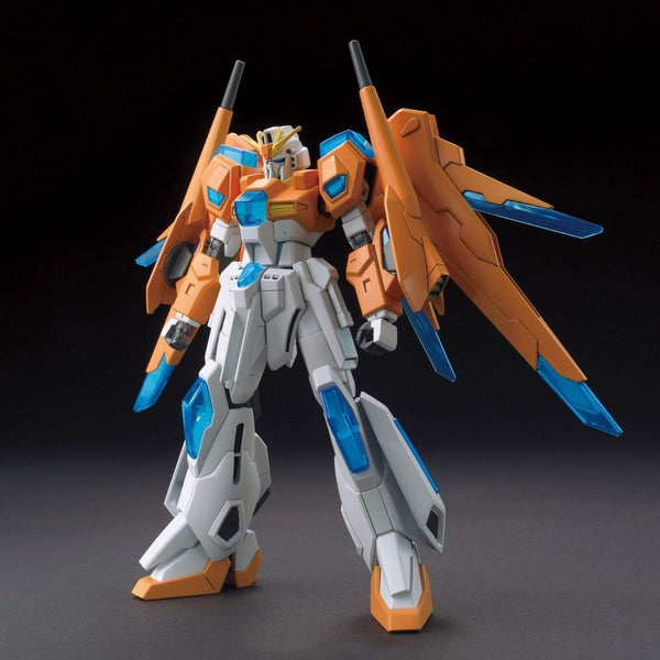 Bandai 1/144 HGBF Scramble Gundam front on pose