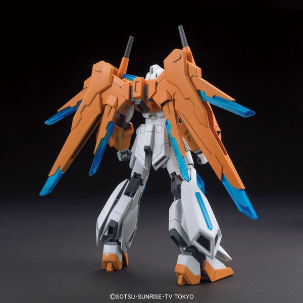 Bandai 1/144 HGBF Scramble Gundam rear view