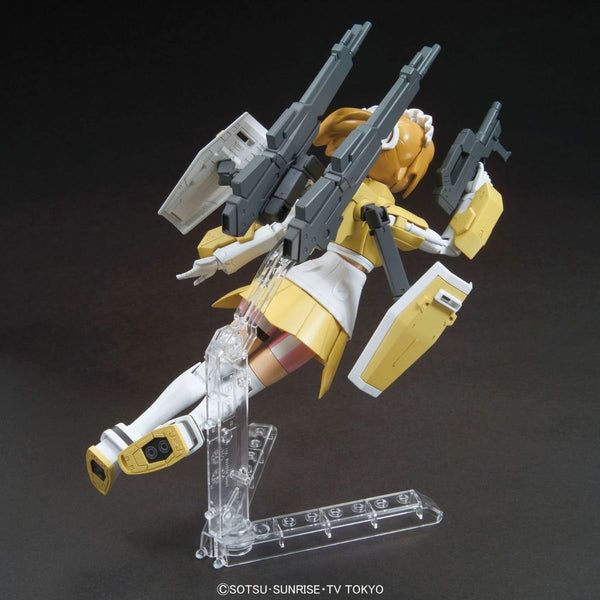 Bandai 1/144 HGBF Super Fumina flying view from behind