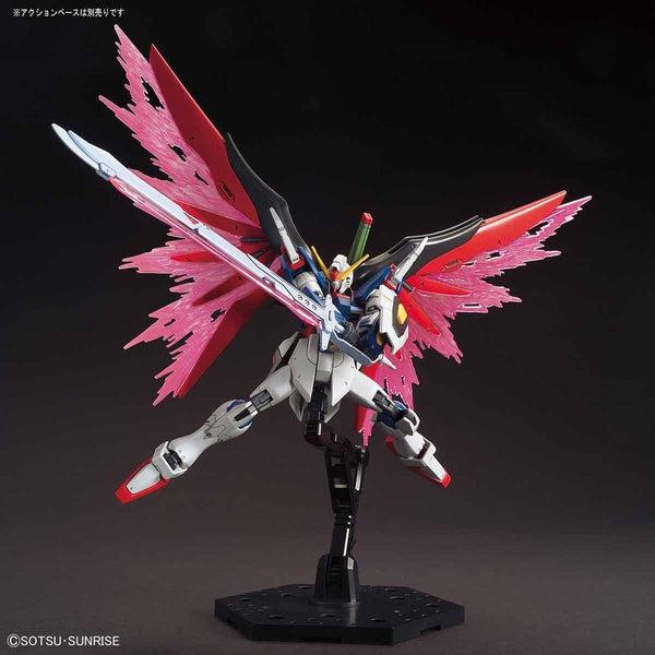 Bandai 1/144 HGCE ZGMF-X42S Destiny Gundam wings of light and anti ship sword