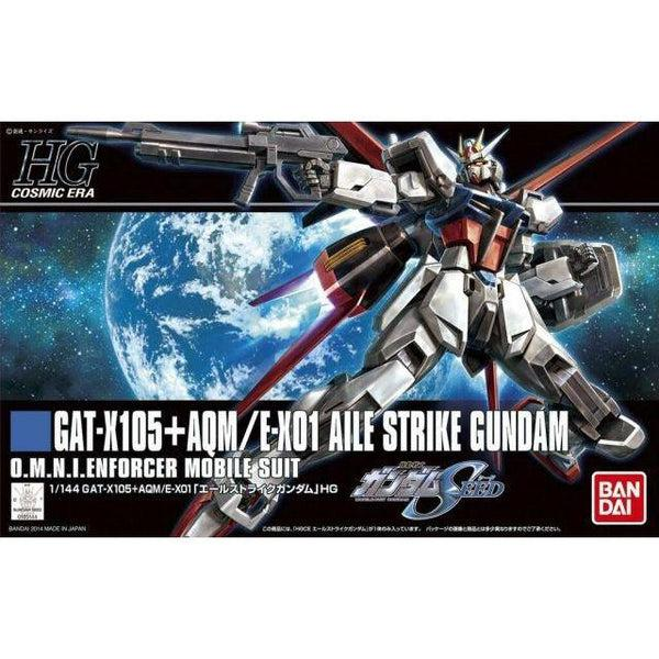 Bandai 1/144 HGCE GAT-X105 Aile Strike package art