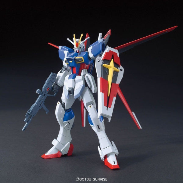 Bandai 1/144 HGCE ZGMF-X56S Force Impulse Gundam F.A.F.T. Mobile Suit front on pose