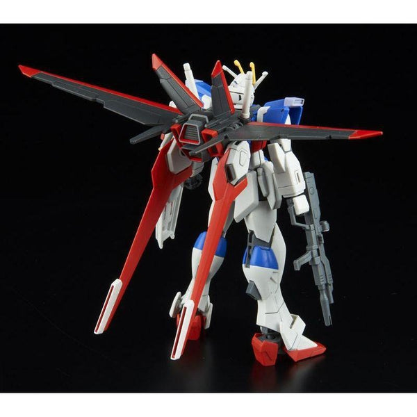 Bandai 1/144 HGCE ZGMF-X56S Force Impulse Gundam F.A.F.T. Mobile Suit rear view
