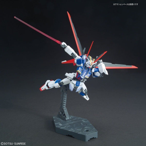 Bandai 1/144 HGCE ZGMF-X56S Force Impulse Gundam F.A.F.T. Mobile Suit action pose