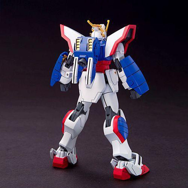 Bandai 1/144 HGFC SF13-017NJ Shining Gundam rear view