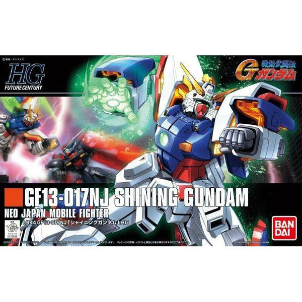 Bandai 1/144 HGFC SF13-017NJ Shining Gundam package art