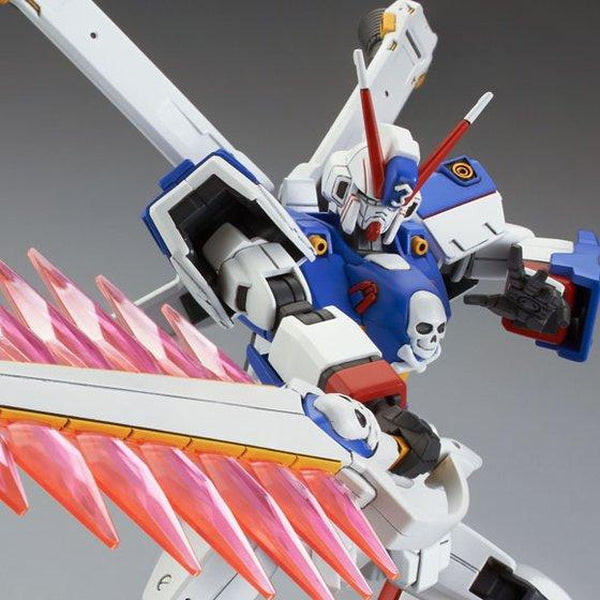 P-Bandai 1/144 HGUC 1/144 Crossbone Gundam X3 [Reissue] close up