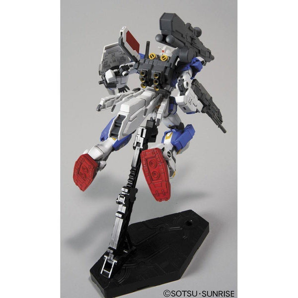 Bandai 1/144 HG RX-78-3 Full Armour Gundam 7th rear view in flight