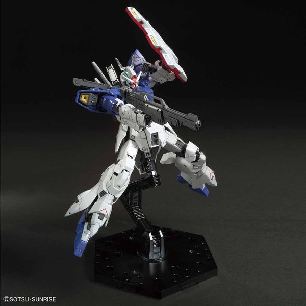 Bandai 1/144 HGUC AMS-123X-X Moon Gundam on included stand