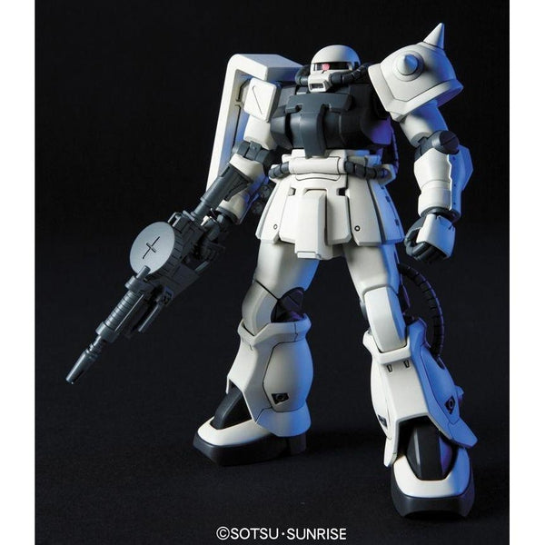 Bandai 1/144 HGUC MS-06F-2 F2-Zaku (Earth Fed. Type) front on pose