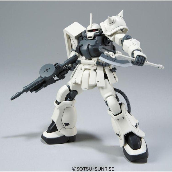 Bandai 1/144 HGUC MS-06F-2 F2-Zaku (Earth Fed. Type) action pose 1