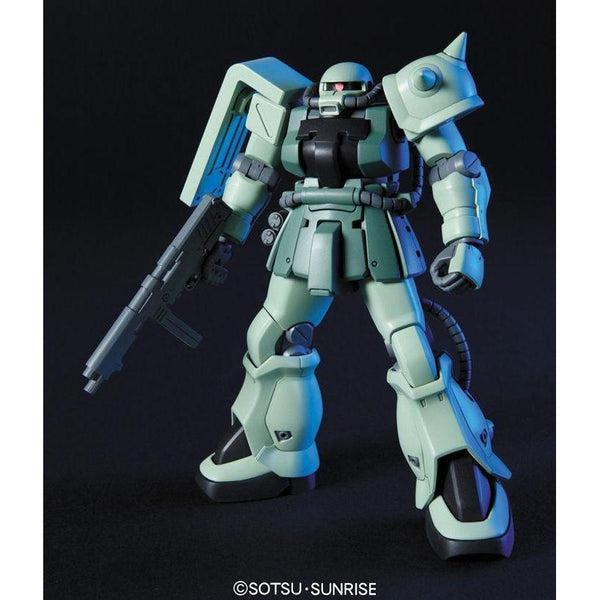 Bandai 1/144 HGUC MS-06F-2 Zaku F2 ZEON front on